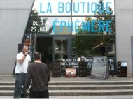 Atelier radio de «La boutique éphémère» au ValFourré.